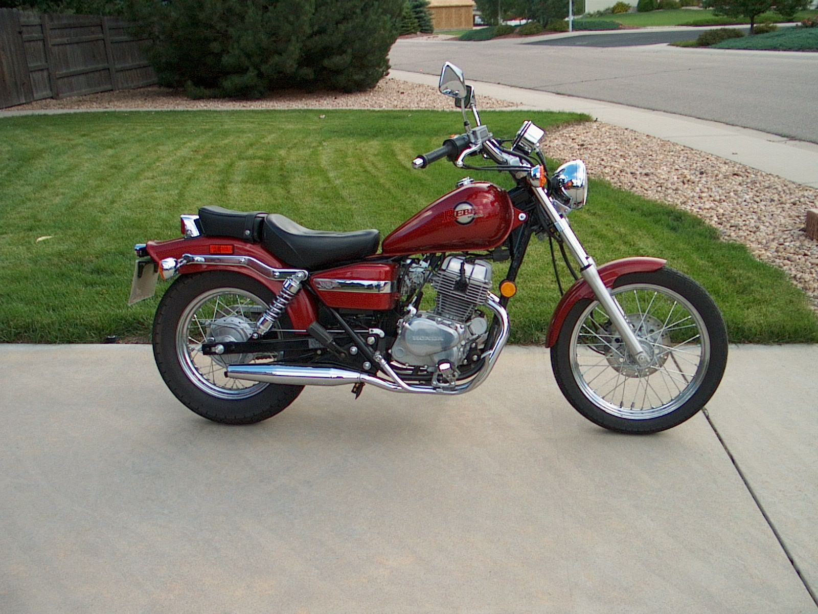 Honda Rebel 250 2002 #3