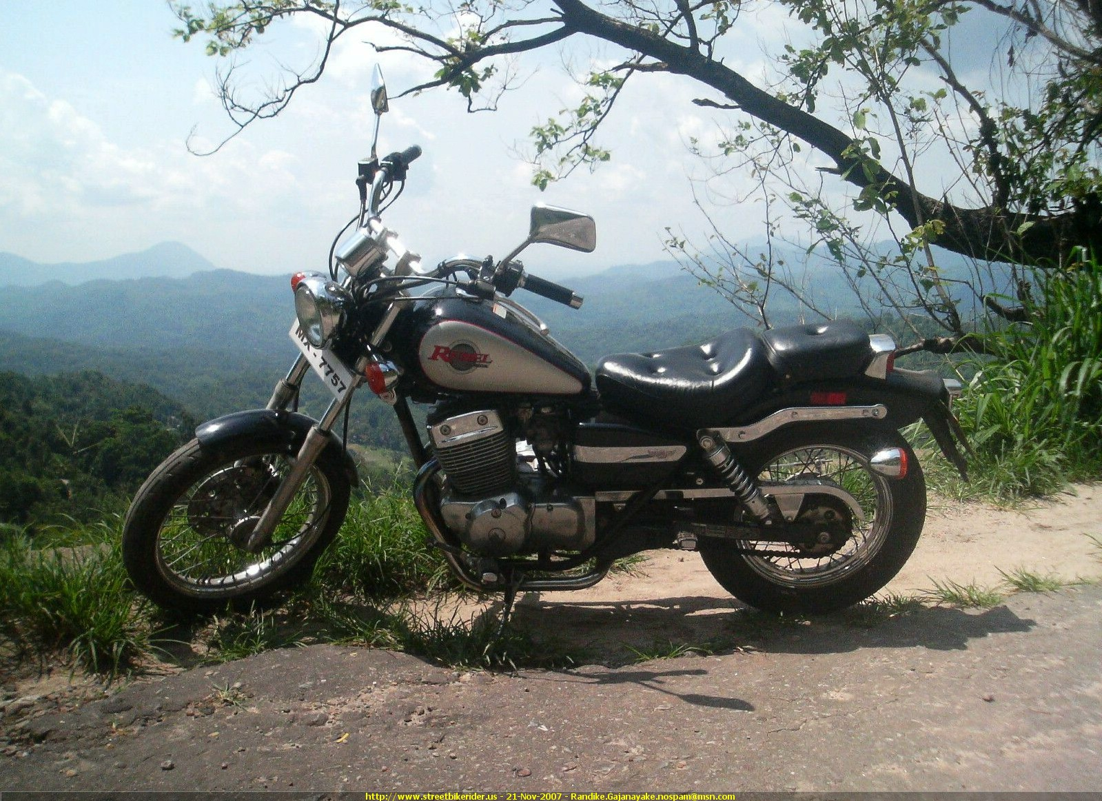 Honda Rebel 250 ED/Rebel 250 G 2000 #3