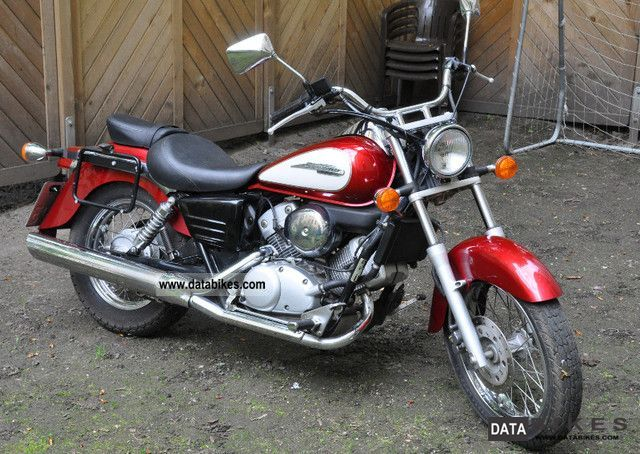 2002 Honda Shadow 125 #1