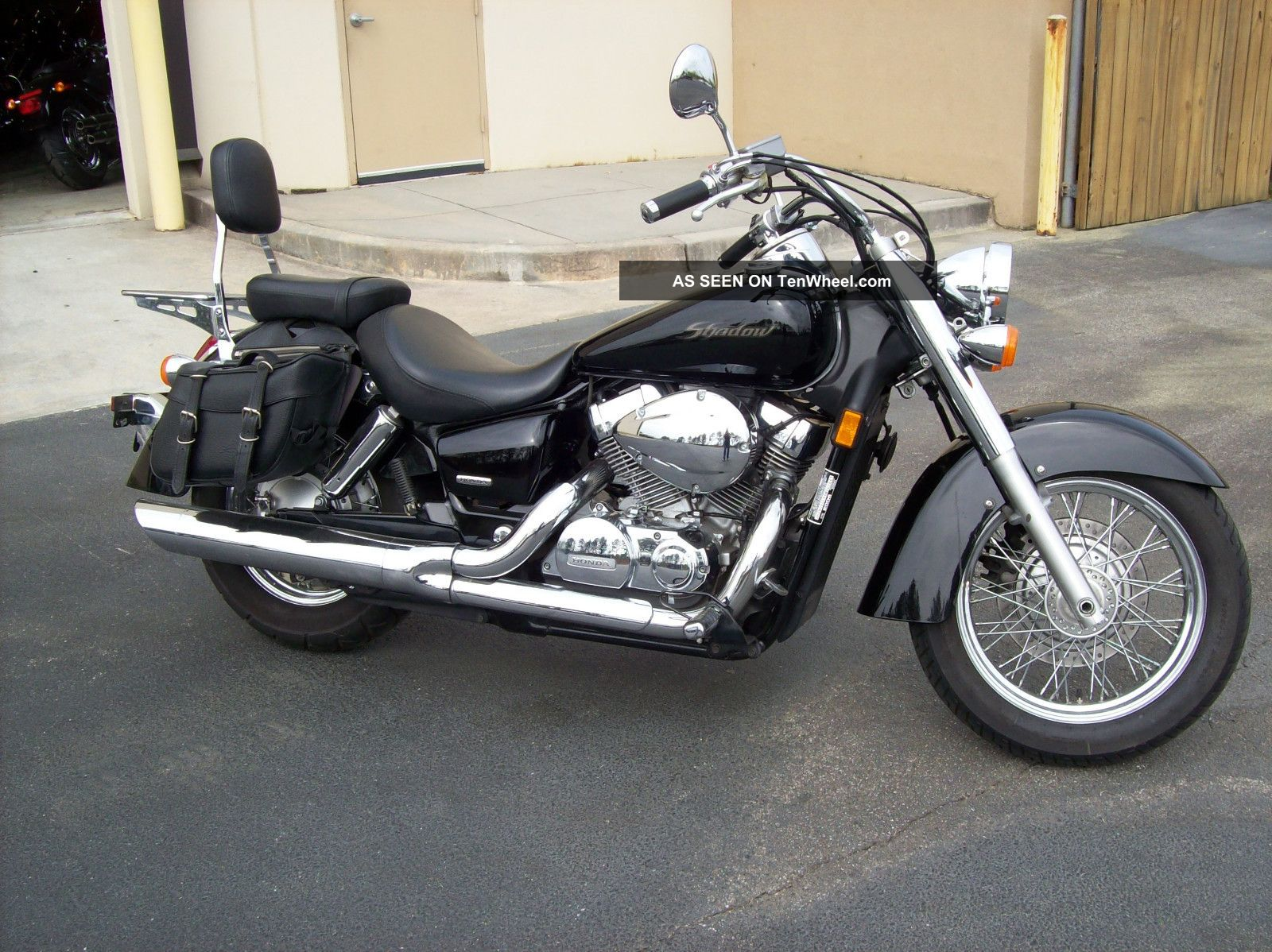 2006 honda shadow 125 image 9. Black Bedroom Furniture Sets. Home Design Ideas