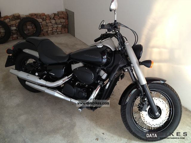 Honda Shadow 750 Black Spirit 2010 #12