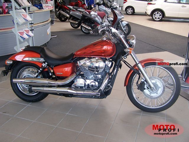 Honda Shadow 750 Black Spirit 2010 #14