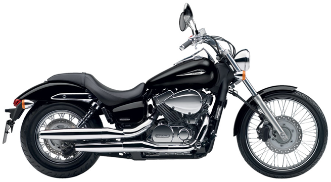 Honda Shadow 750 Black Spirit 2010 #8