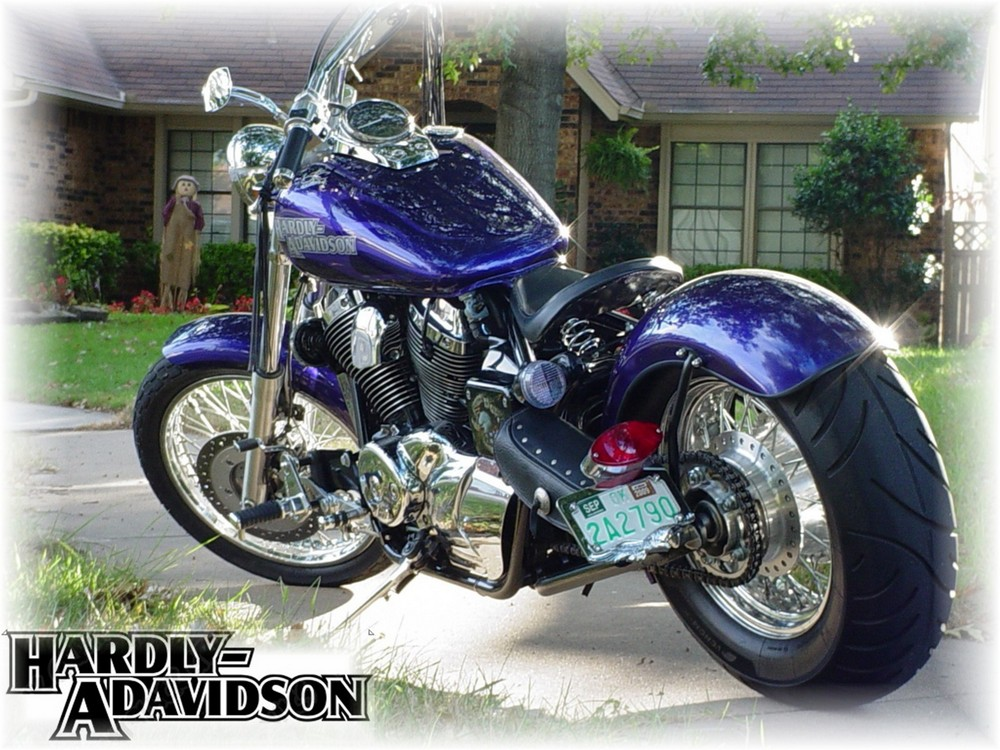 Honda Shadow Custom 400 Image 2