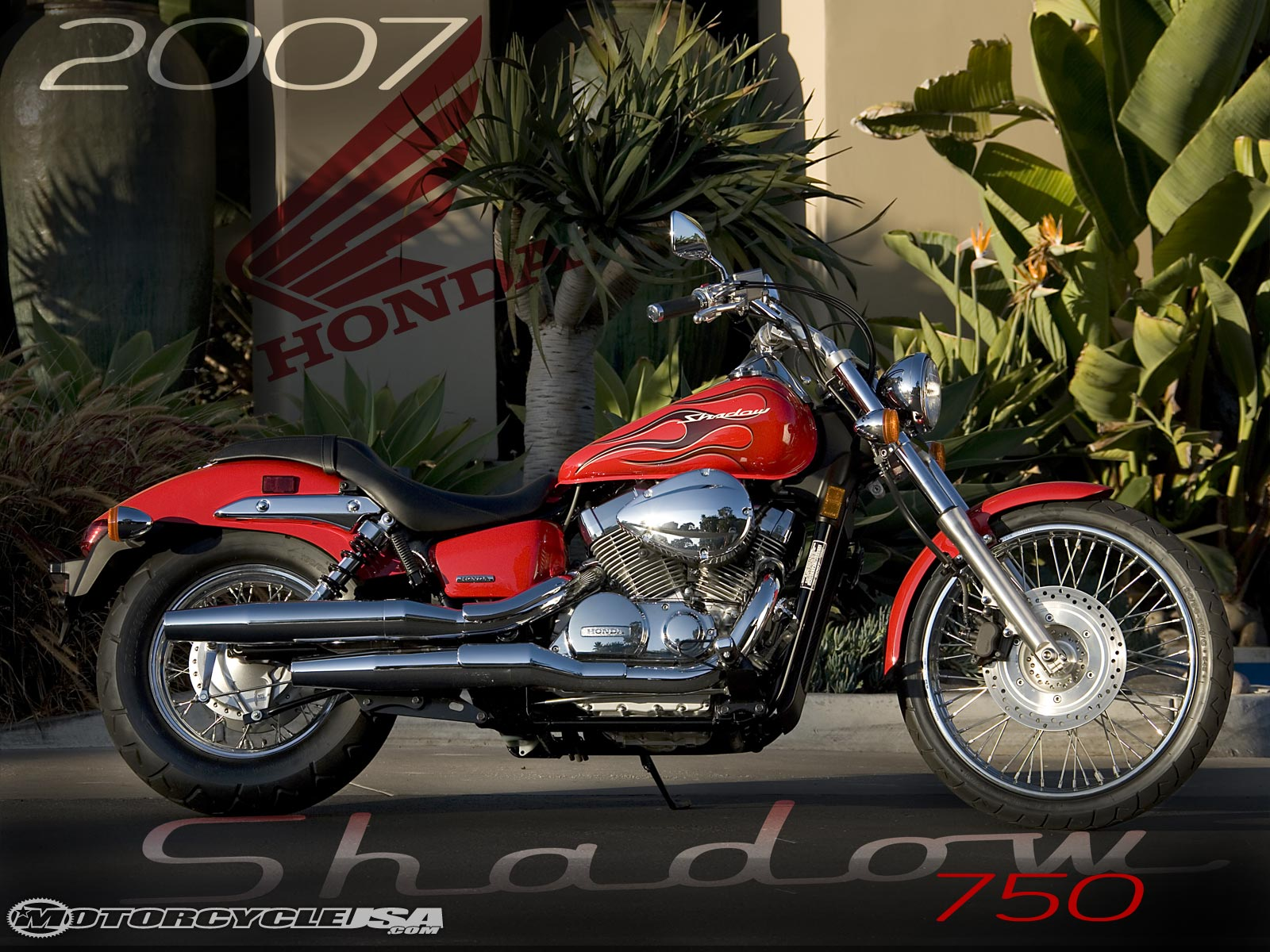 Honda Shadow Spirit 750 #8