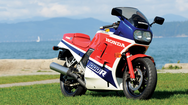 Honda VF1000F (reduced effect) #7