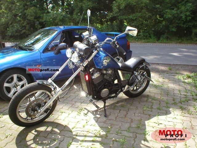 Honda VT500E (reduced effect) 1986 #1