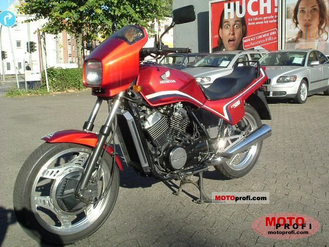Honda VT500E (reduced effect) 1987 #3