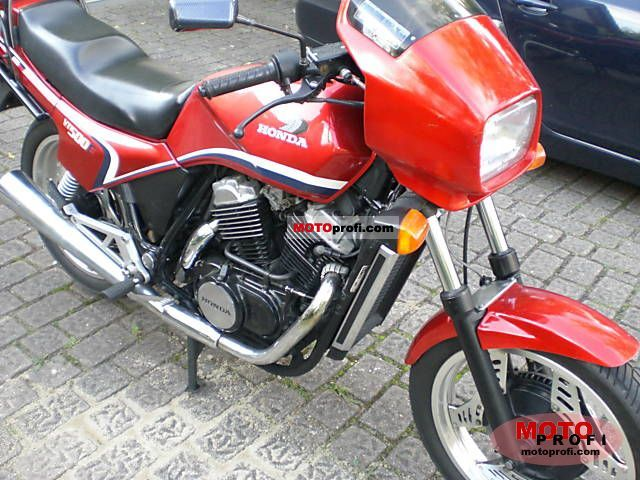 Honda VT500E (reduced effect) 1987 #4