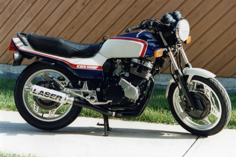Honda VT500E (reduced effect) #6