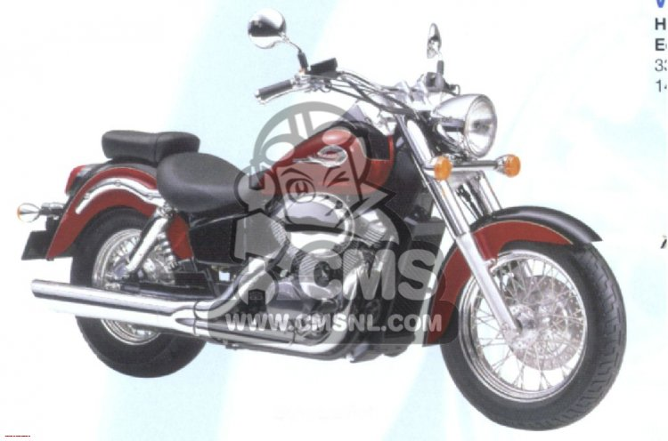 Honda VT750C2 Shadow 2001 #2