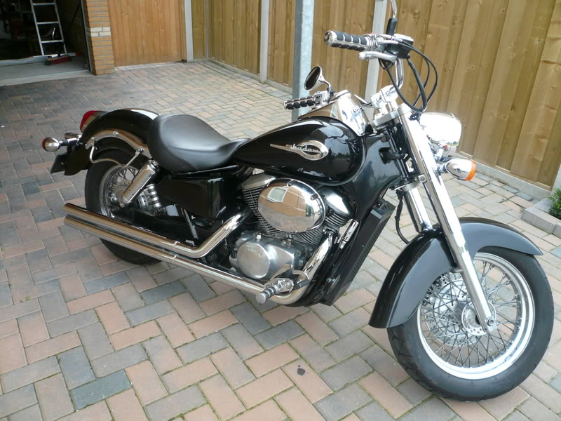2001 Honda VT750C3 DC Black Widow #7