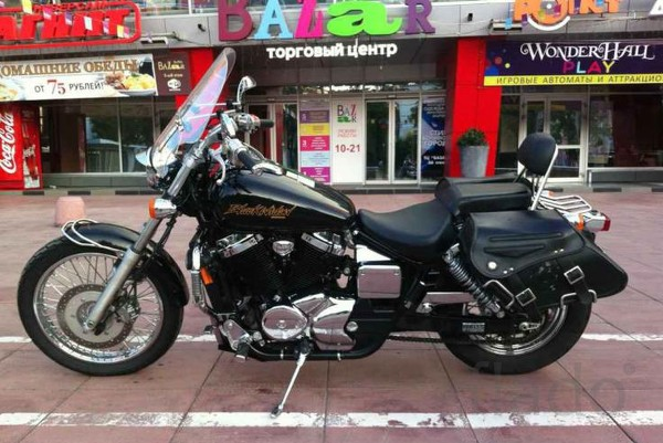 Honda VT750C3 DC Black Widow 2001 #5
