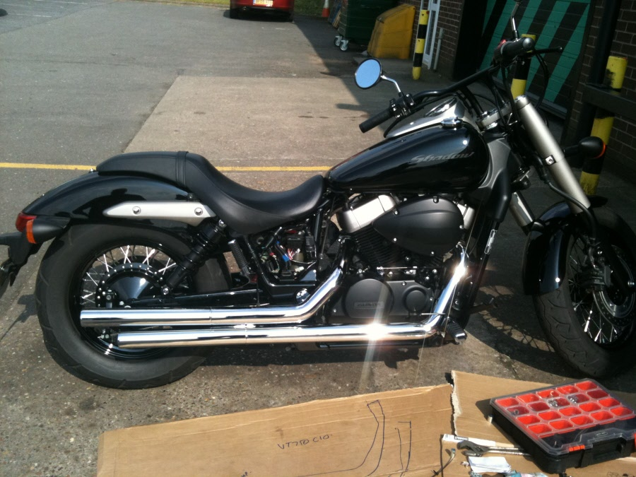 Honda VT750C4 Shadow 2006 #4