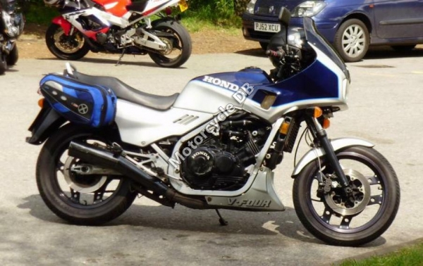Honda XBR500 (reduced effect) 1986 #12