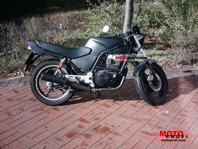 Honda XBR500 (reduced effect) 1990 #5
