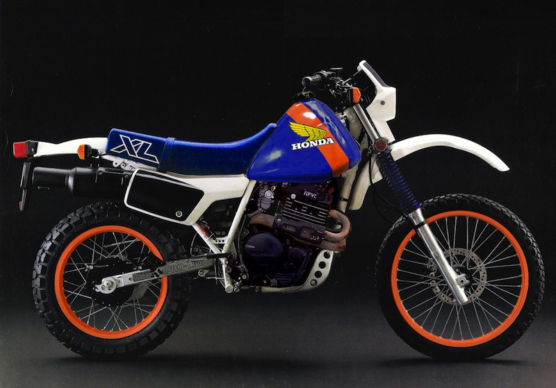 Honda XL600RM (reduced effect) 1986 #1