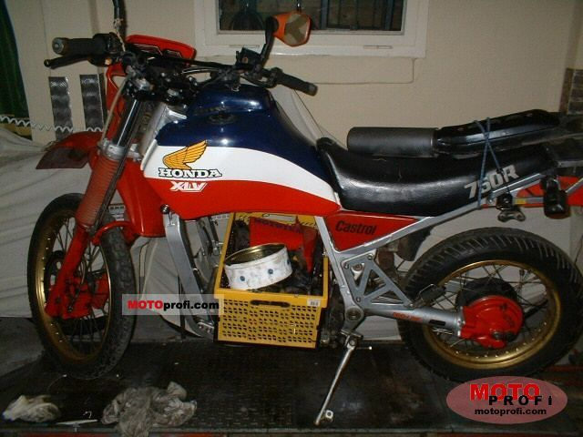 Honda XLV750R (reduced effect) 1984 #1