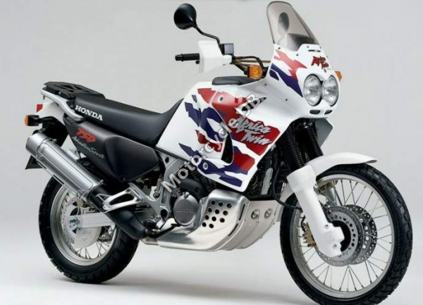 Honda XRV750 Africa Twin (reduced effect) 1991 #4