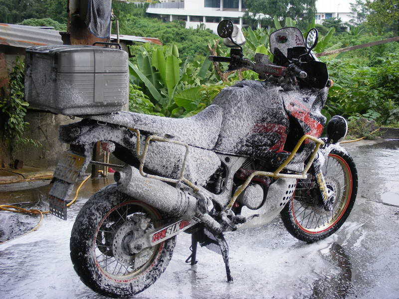 Honda XRV750 Africa Twin (reduced effect) 1991 #9
