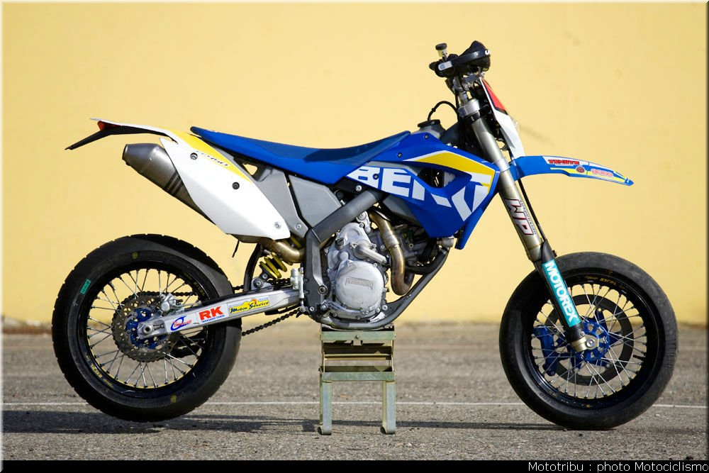 Husaberg Super motard #1
