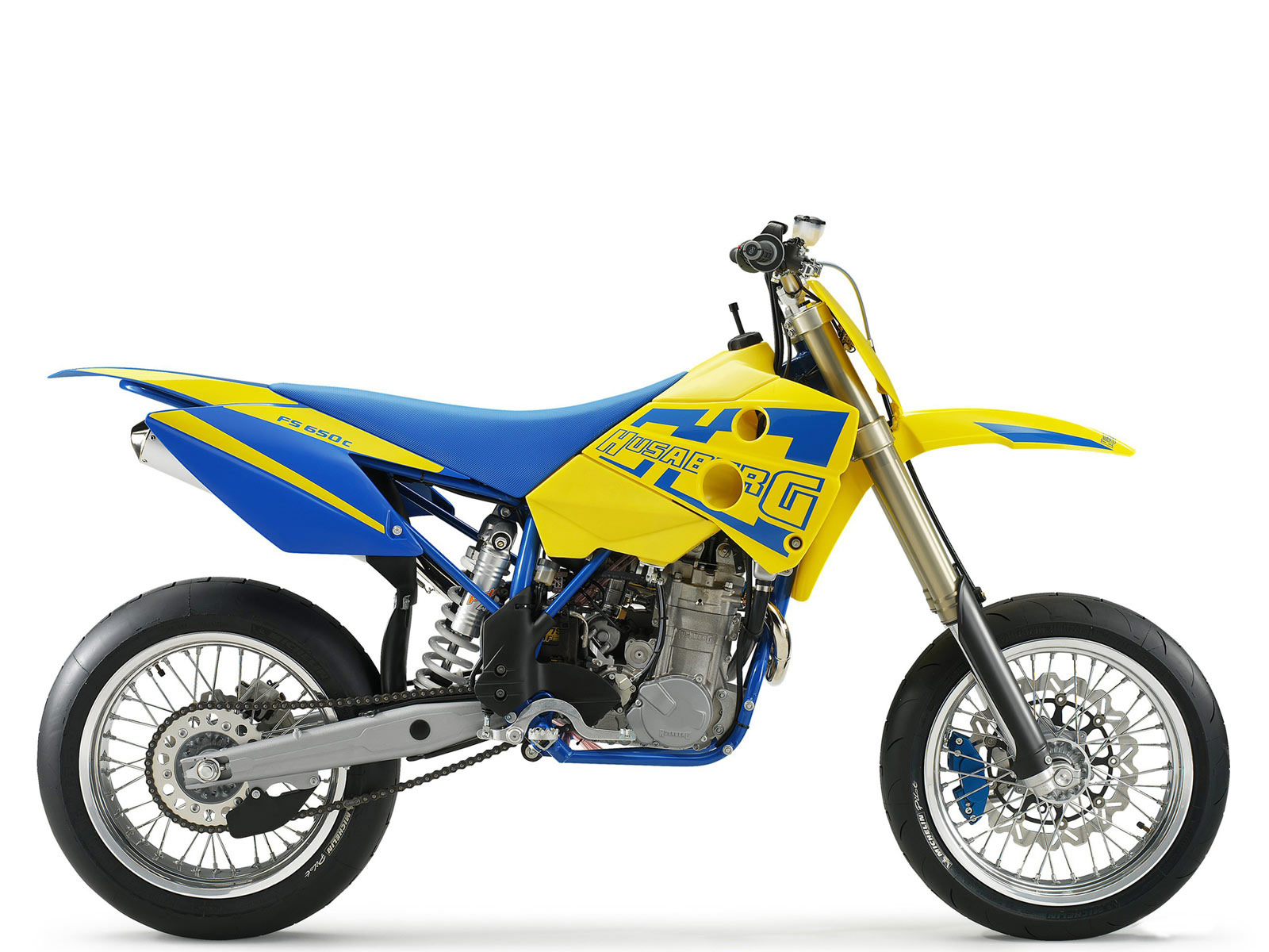 Husaberg Super motard #4