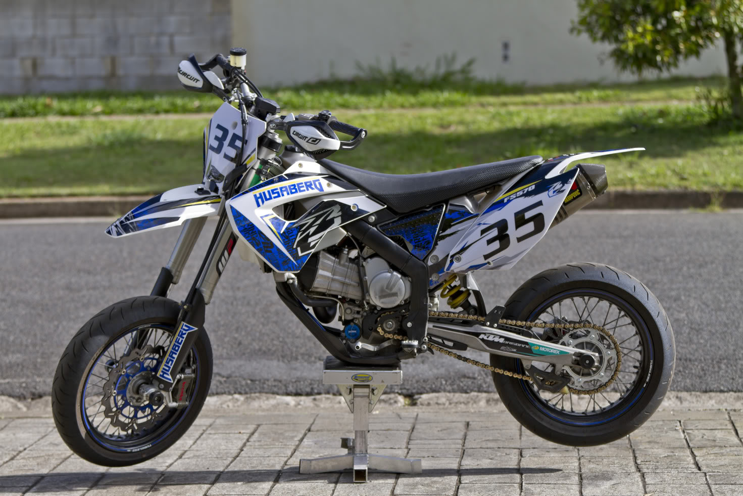 Husaberg Super motard #5
