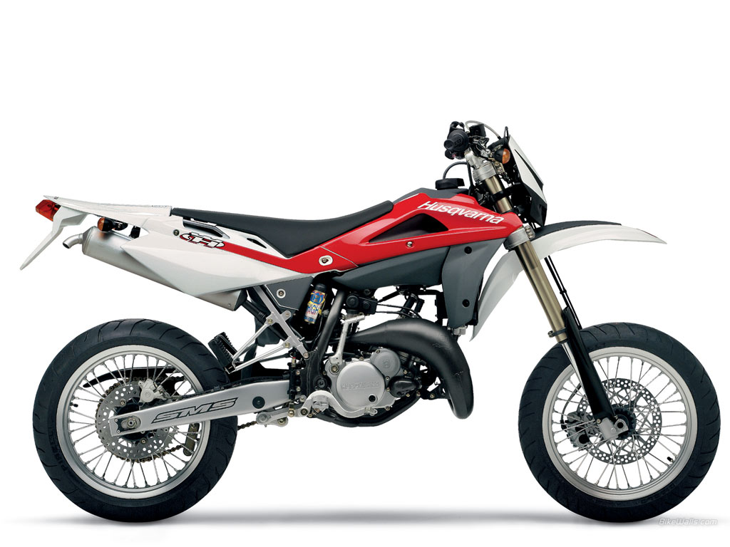 2006 husqvarna sm 125 s moto zombdrive com. Black Bedroom Furniture Sets. Home Design Ideas