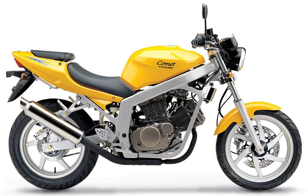 Hyosung MS1 125 Exceed #6