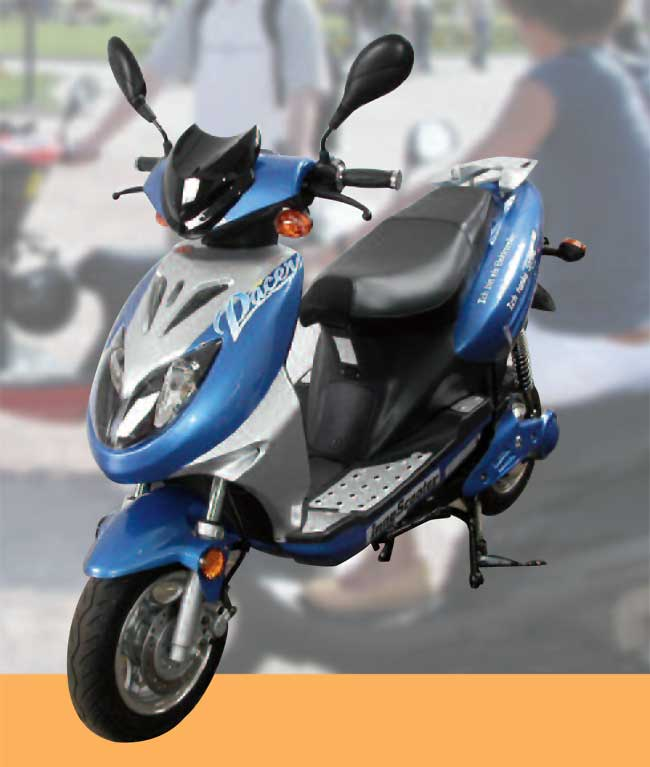 The high performing scooty Innoscooter EM 2500 L #2