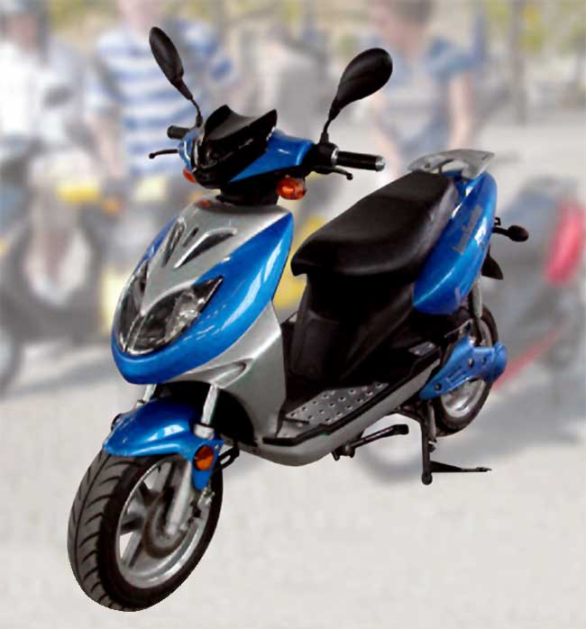 The high performing scooty Innoscooter EM 2500 L #3