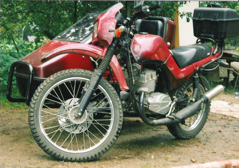 Jawa 350 Type 638.5 (with sidecar) #11