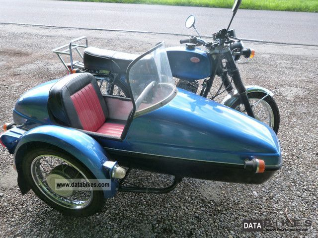 Jawa 350 Type 638.5 (with sidecar) #4