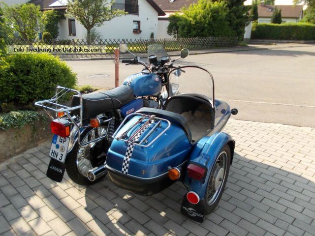 Jawa 350 Type 638.5 (with sidecar) #5