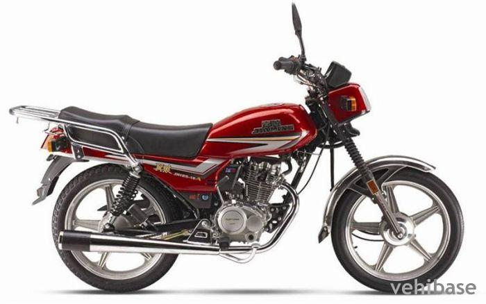 The powerful Jialing JH 125 E bike #1