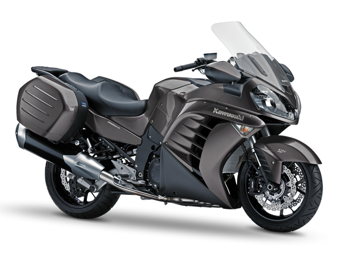 Kawasaki 1400GTR Grand Tourer 2014 #10