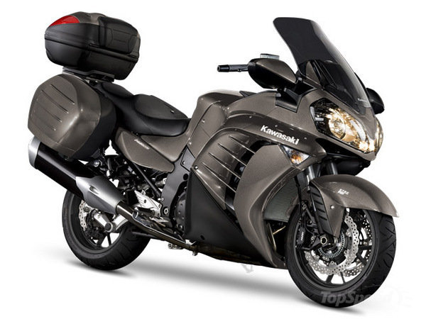 Kawasaki 1400GTR Grand Tourer 2014 #2