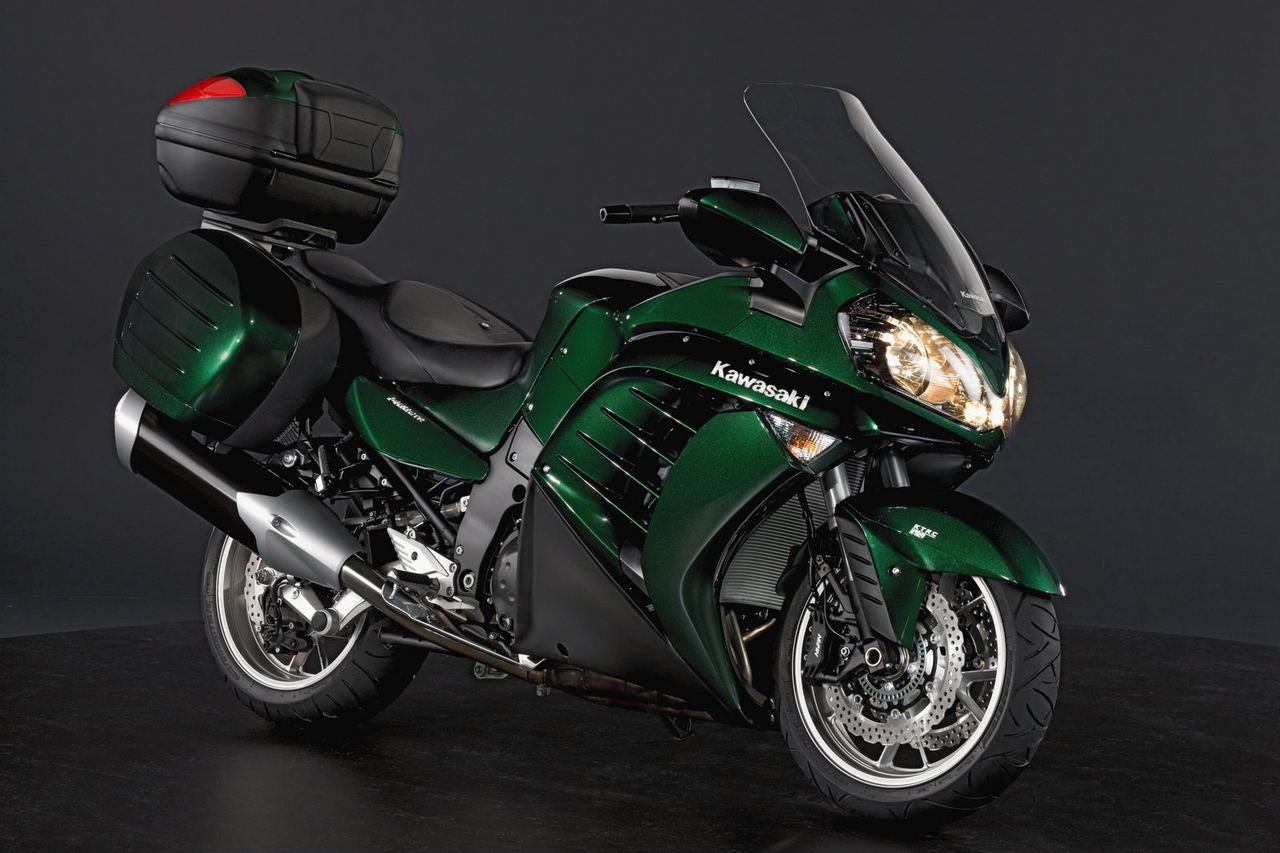 Kawasaki 1400GTR Grand Tourer 2014 #4
