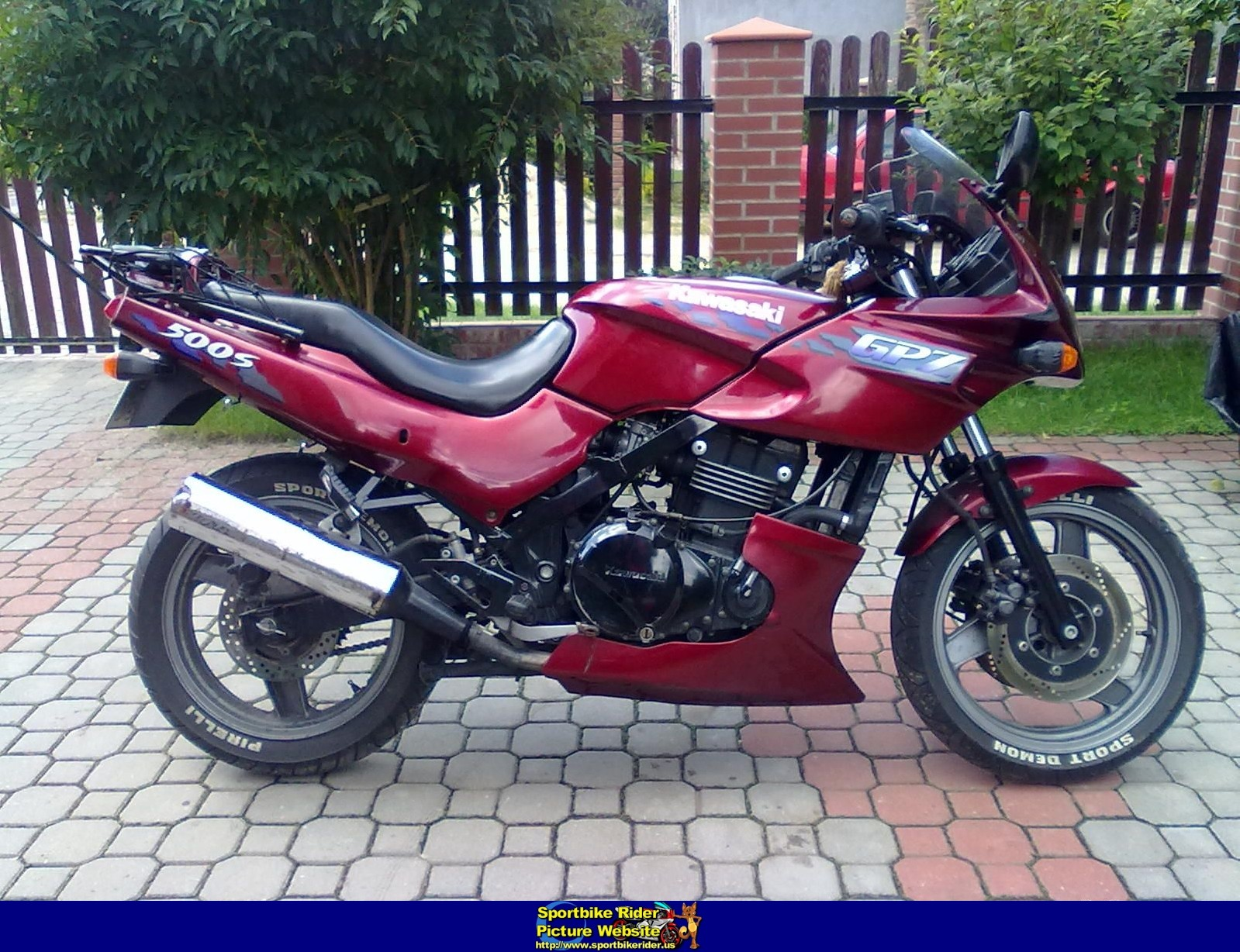 1994 kawasaki gpz500s moto zombdrive com. Black Bedroom Furniture Sets. Home Design Ideas