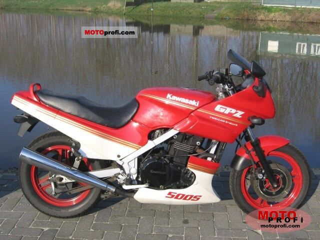 Kawasaki GPZ500S (reduced effect) 1988 #3