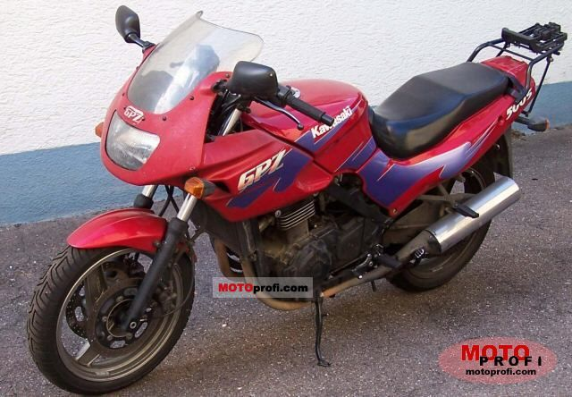 Kawasaki GPZ500S (reduced effect) 1988 #4