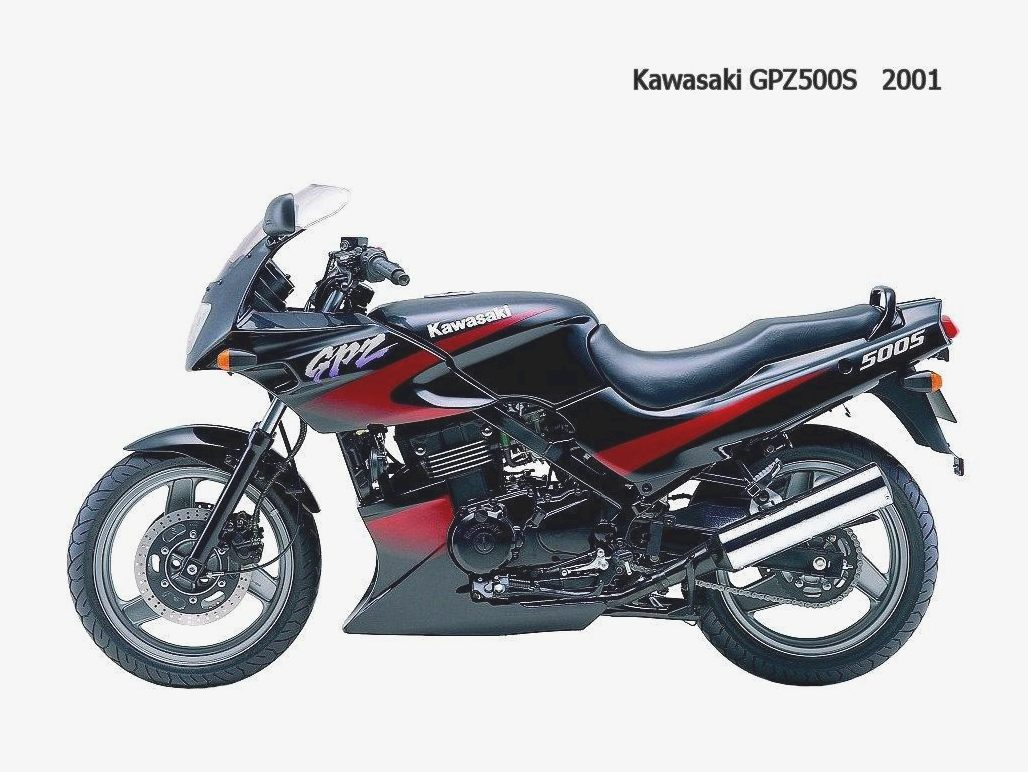 Kawasaki GPZ500S (reduced effect) 1988 #9