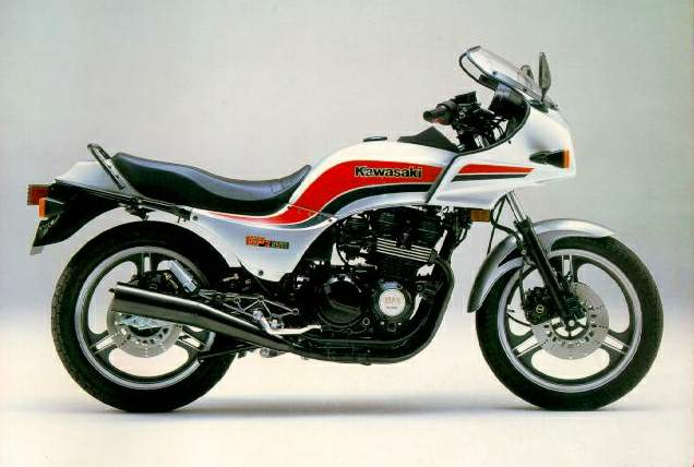 Kawasaki GPZ550 (reduced effect) 1989 #7