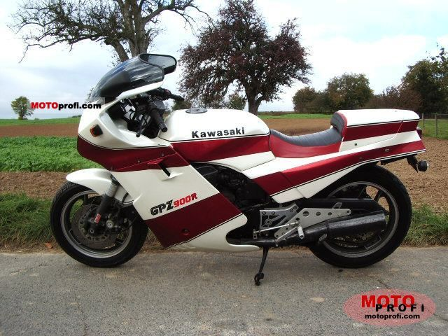 Kawasaki GPZ600R (reduced effect) #10