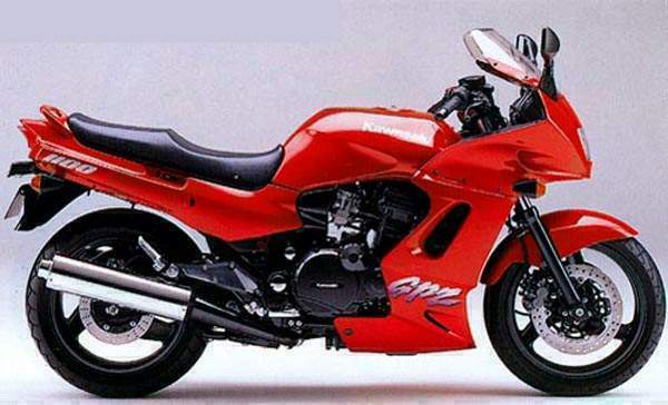 Kawasaki GPZ600R (reduced effect) #14