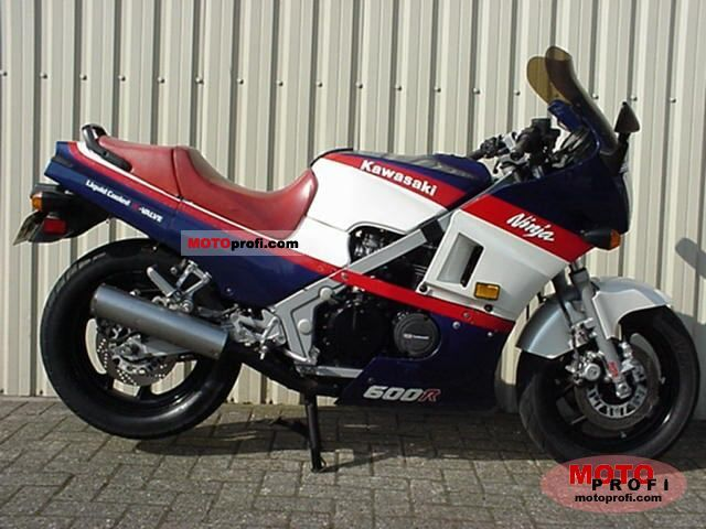 Kawasaki GPZ600R (reduced effect) #3