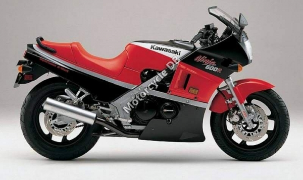 Kawasaki GPZ600R (reduced effect) #4