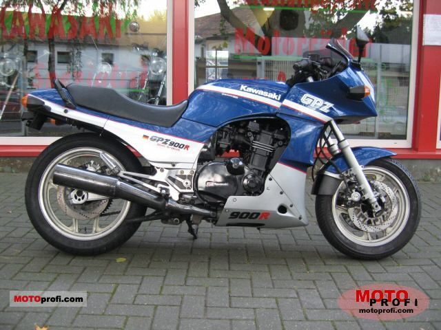 Kawasaki GPZ900R (reduced effect) 1984 #7