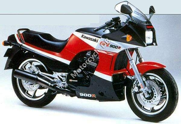 Kawasaki GPZ900R (reduced effect) 1985 #7
