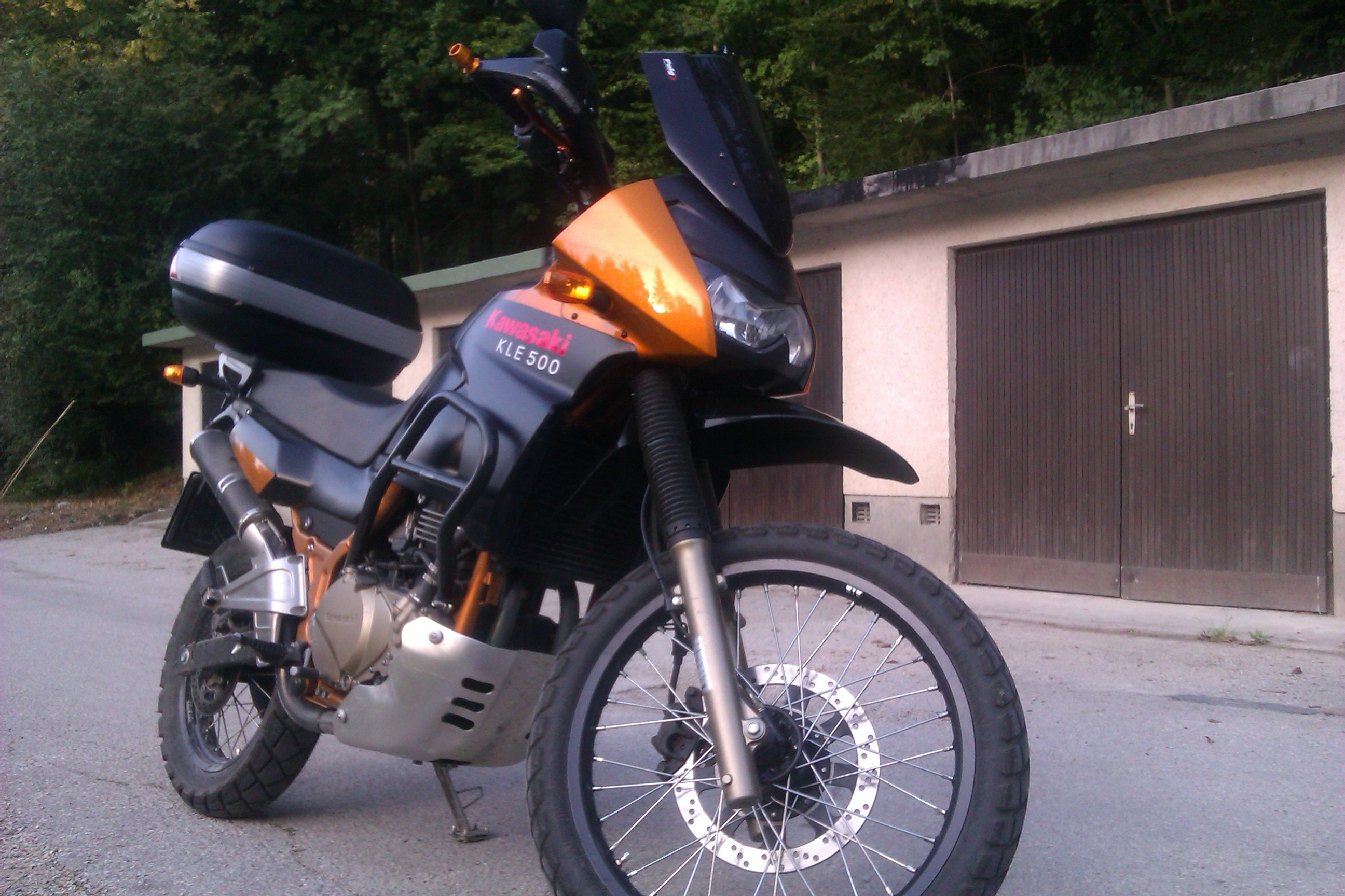 ... Kawasaki KLE500 (reduced effect) #14